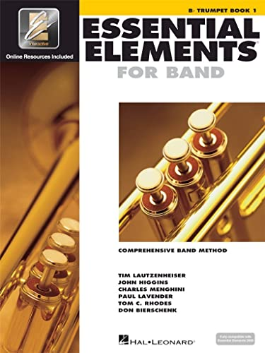 9780634003202: Essential Elements 2000, Book 1 Plus DVD: B-Flat Trumpet