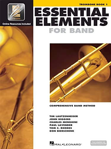 9780634003226: Essential Elements 2000, Book 1 Plus DVD: Trombone