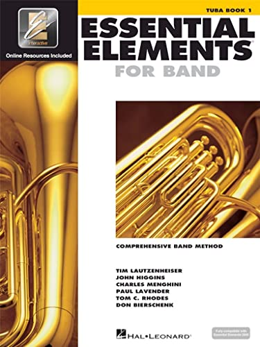 9780634003257: Essential Elements for Band - Book 1 with EEi: Tuba in C (B.C.) (Essential Elements 2000 Comprehensive Band Method)