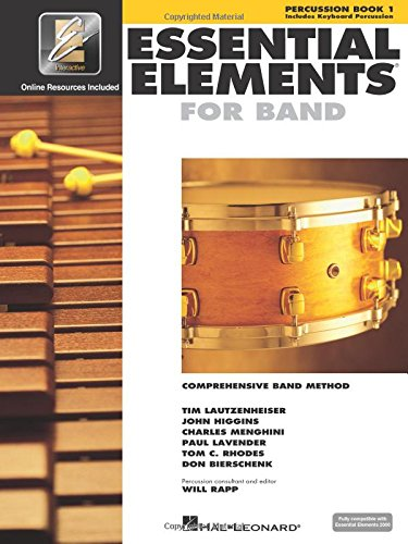 9780634003271: Essential Elements 2000, Book 1 Plus DVD: Percussion (Percussion Book 1)