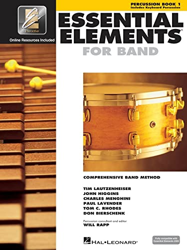 9780634003271: Essential Elements for Band - Book 1 with EEi: Percussion/Keyboard Percussion (Percussion Book 1)