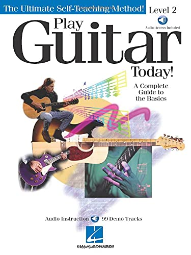 9780634004094: Play Guitar Today, Level 2: A Complete Guide to the Basics