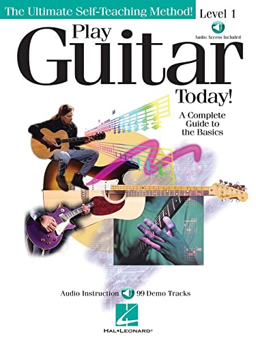 9780634004100: Play Guitar Today! - Level 1: A Complete Guide to the Basics BK/Online Audio