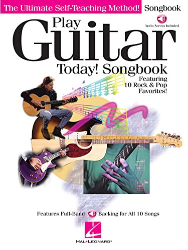 9780634004117: Play Guitar Today! Songbook: Featuring 10 Rock and Pop Favorites!