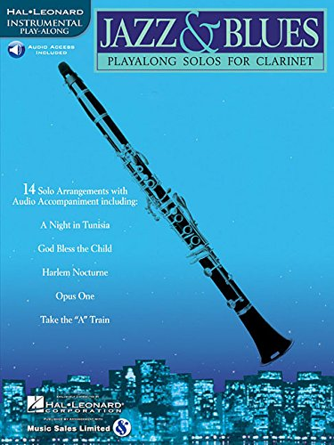 9780634004421: Jazz & Blues: Play-Alongs Solos for Clarinet