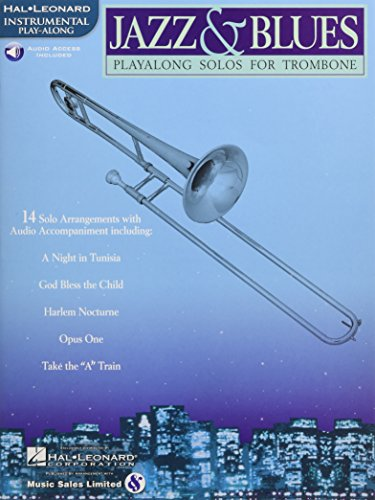 9780634004469: Jazz & Blues: Playalong Solos for Trombone
