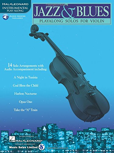 Jazz and Blues - Playalong Solos for Violin - 14 Solo Arrangements with CD Accompaniment