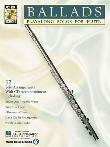 9780634004483: Ballads: Play-Alongs Solos for Flute (Instrumental Folio)