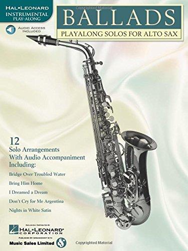 9780634004506: Ballads: Play-Along Solos for Alto Sax Book & Online Audio (Instrumental Folio)
