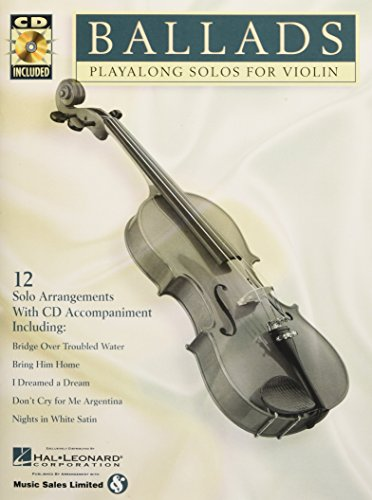 9780634004544: Ballads: Play-Along Solos for Violin