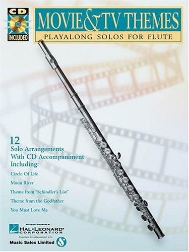9780634004568: Movie & TV Themes: Play-Along Solos for Flute