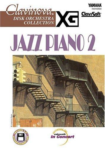 9780634004889: Jazz Piano 2, Intermediate (Clavinova Disk Orchestra Collection)