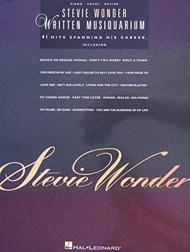 9780634004971: Stevie Wonder - Written Musiquarium