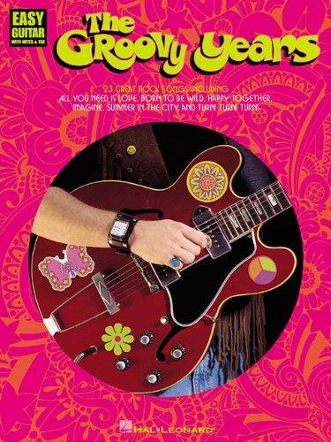 9780634004995: GROOVY YEARS (Easy Guitar with Notes & Tab)