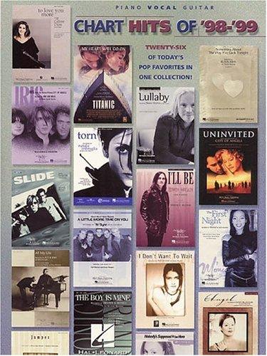 9780634005169: Chart Hits of '98 - '99