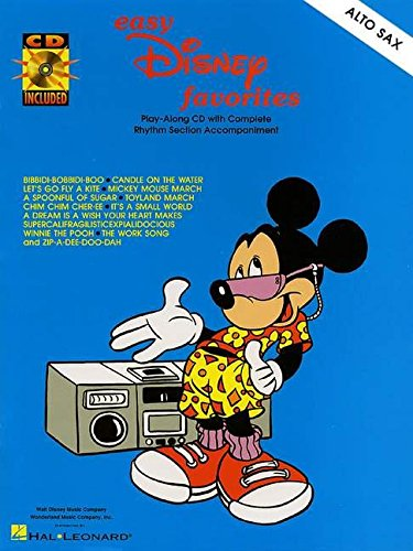 9780634006074: EASY DISNEY FAVORITES ALTO SAX BK/CD