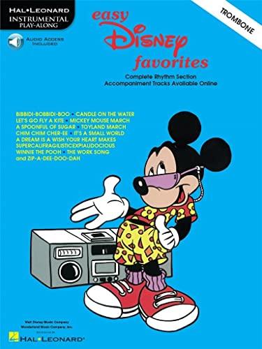 9780634006098: Easy Disney Favorites TROMBONE Book & Online Audio