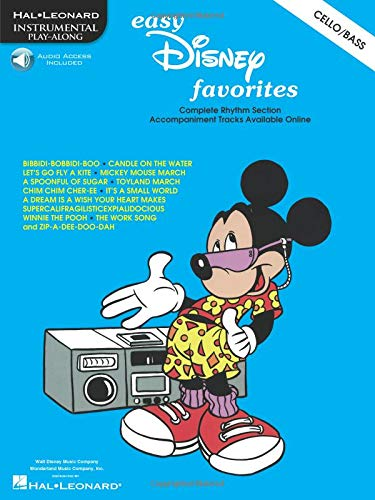 9780634006111: Easy Disney Favorites (Cello/Double Bass)