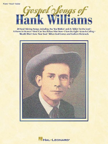 9780634006982: Gospel Songs of Hank Williams