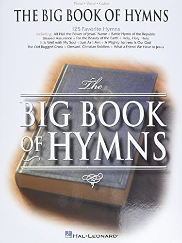 9780634006999: The Big Book of Hymns (Piano/Vocal/Guitar Songbook)