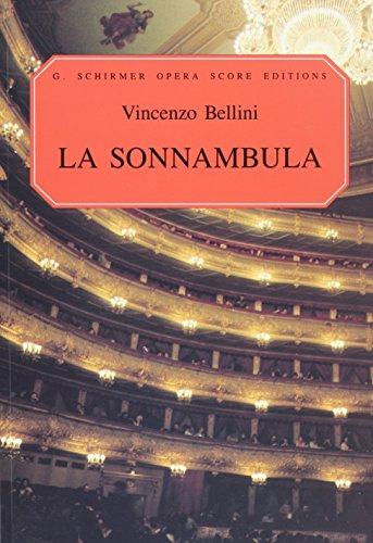 9780634007422: La sonnambula: Vocal Score