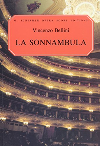 9780634007422: LA Sonnambula: Vocal Score