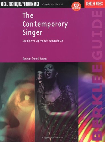 9780634007972: The Contemporary Singer: Elements of Vocal Technique