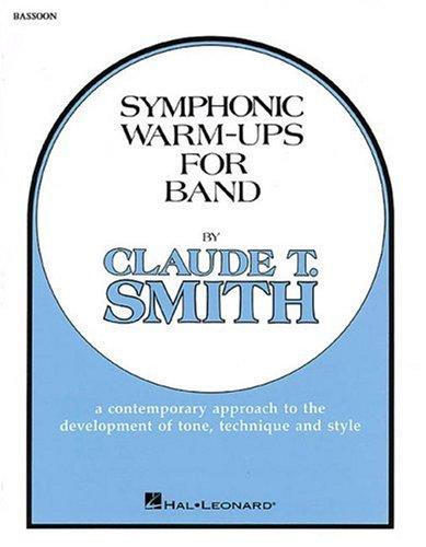 9780634008061: Symphonic Warm-Ups - Bassoon