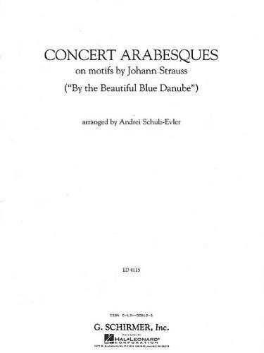 9780634008627: Concert Arabesques: Piano Solo