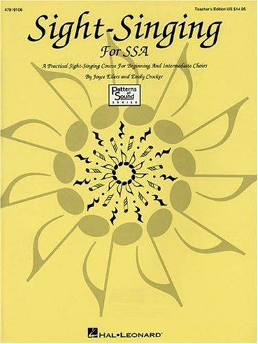 Sight-Singing for Ssa Resource: Eilers, Joyce/ Crocker,
