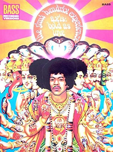 9780634009211: Jimi Hendrix - Axis: Bold As Love (Bass Recorded Versions)