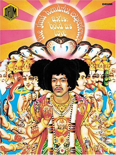 9780634009235: Jimi Hendrix Experience: Axis, Bold As Love: Drum