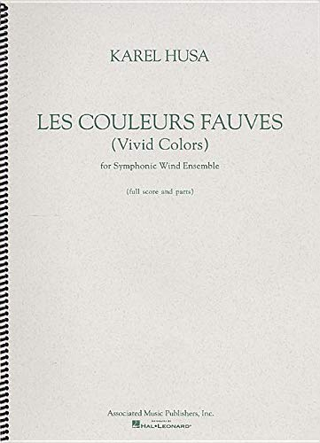 9780634009280: Les Couleurs Fauves/Vivid Colors: For Symphonic Wind Ensemble (French Edition)