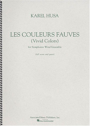 9780634009297: Les Couleurs Fauves/Vivid Colors: For Symphonic Wind Ensemble (French Edition)