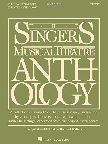 9780634009761: The Singer's Musical Theatre Anthology: Tenor (Singer's Musical Theatre Anthology, Vol. 3)