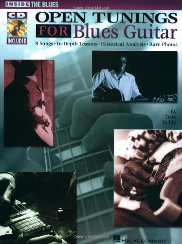 9780634009938: Open Tunings for Blues Guitar (Inside the Blues)