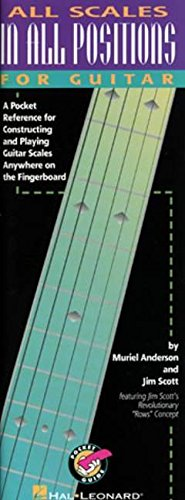 9780634010491: All Scales in All Positions for Guitar: A Pocket Reference for Constructing and Playing Guitar Scales Anywhere on the Fingerboard