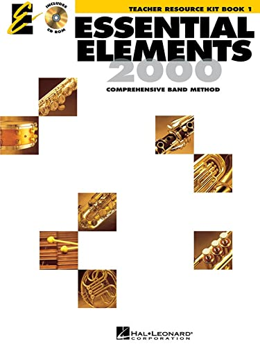 9780634011184: Essential Elements 2000, Book 1 - Teacher Resource Kit with CD-ROM