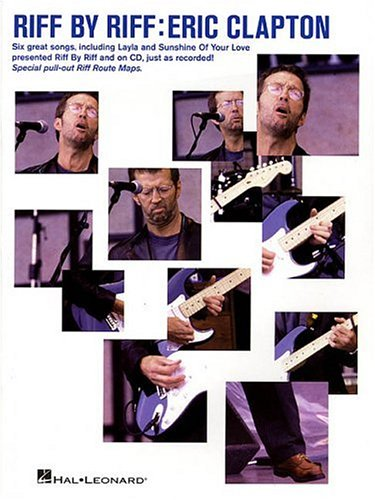 9780634011283: Riff by Riff -- Eric Clapton: Book & CD