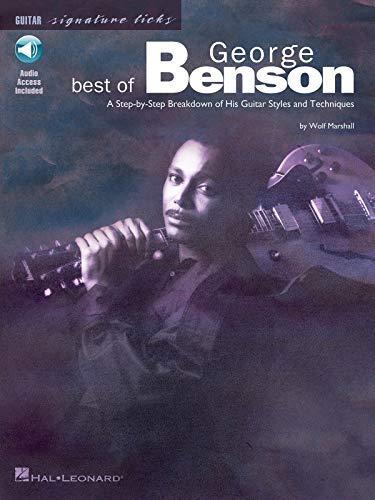 9780634011313: Best of George Benson: A Step-By-Step Breakdown of His Guitar Styles and Techniques