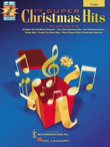 9780634011542: 17 Super Christmas Hits Viola BK/CD