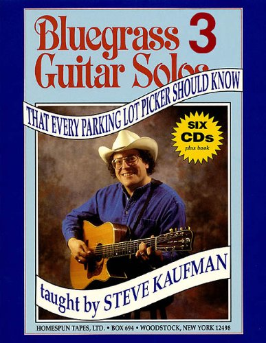 9780634011672: Bluegrass Guitar Solos That Every Parking Lot Picker Should Know (Bluegrass Guitar Solos Every Parking Lot Picker Should Know)