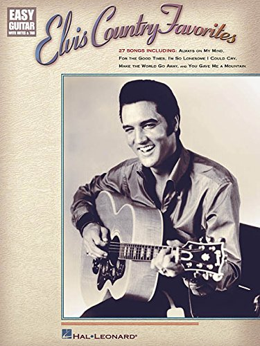 9780634011719: Elvis Country Favorites