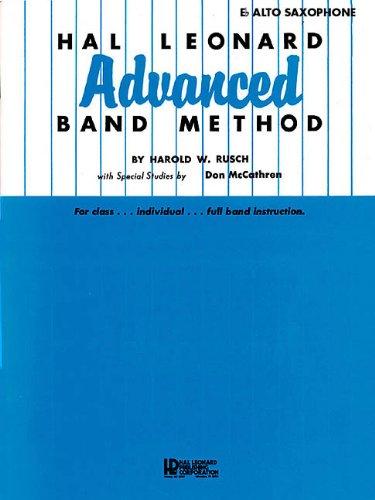 Hal Leonard Advanced Band Method: E-flat Alto Saxophone
