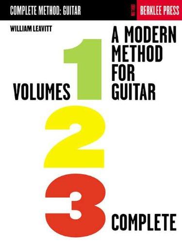 9780634012334: A Method for a Guitar Vol 1-2-3
