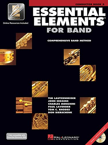 9780634012389: Essential Elements with EEI Conductor Book 2 (Essential Elements 2000 Comprehensive Band Method)