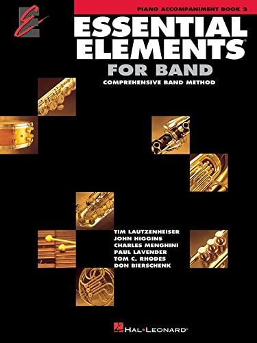 9780634012402: Essential Elements with EEI Piano Accompaniment Book 2