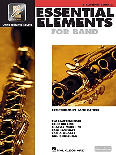 9780634012884: Essential Elements for Band - Book 2 with Eei: BB Clarinet