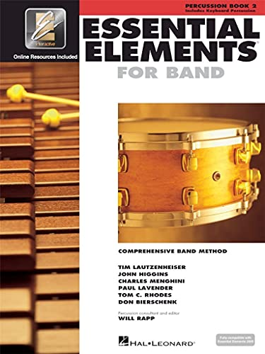 9780634013010: Essential Elements for Band - Book 2 with EEi: Percussion/Keyboard Percussion (Percussion, Book 2)