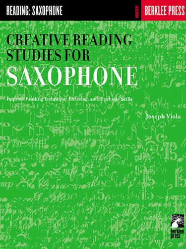 9780634013348: Creative Reading Studies for Saxophone (Workshop Berklee Press)